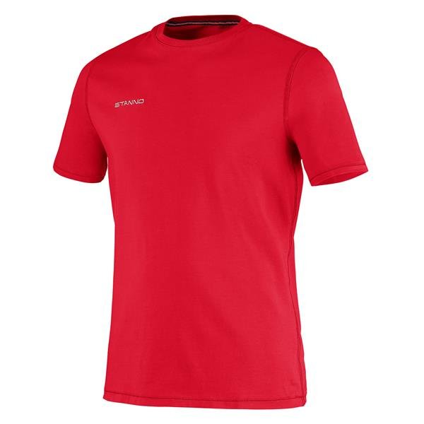 Stanno Centro Cotton Tee Red