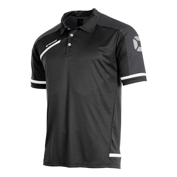 Stanno Prestige Black/Anthracite Polo
