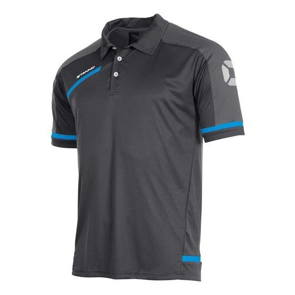 Stanno Prestige Dark Grey/Blue Polo