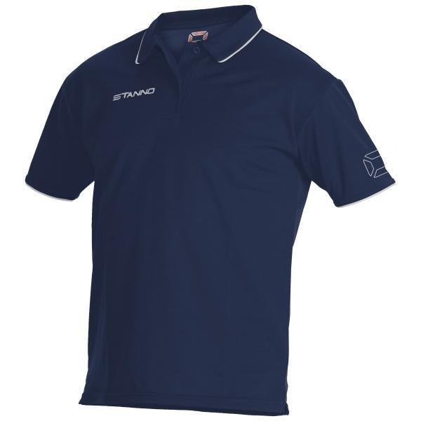 Stanno ClimaTec Navy/White Polo Shirt