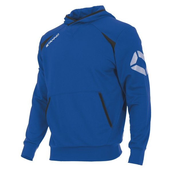 Stanno Centro Hooded Sweat Royal/black