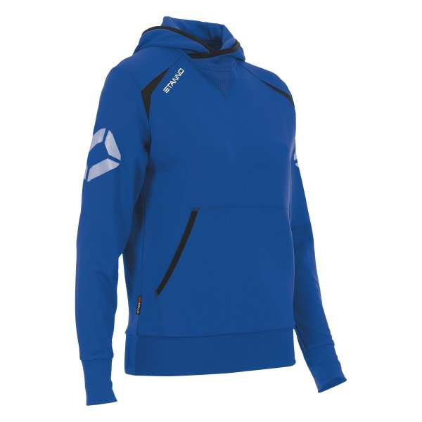 Stanno Centro Hooded Sweat Ladies Royal/black