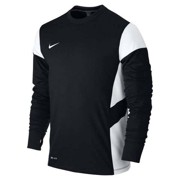 Nike Academy 14 Black/White Midlayer Top Youths