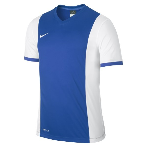 8c1508686a20 Nike Park Derby Royal Blue White Short Sleeve Football Shirt