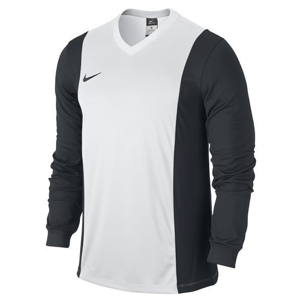 Nike Park Derby White/Black Long Sleeve Football Shirt