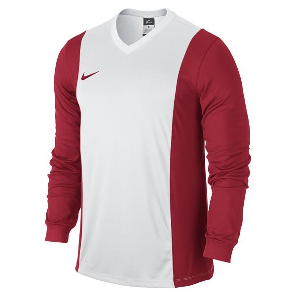 Nike Park Derby Long Sleeve Football Shirt White/wolf Grey