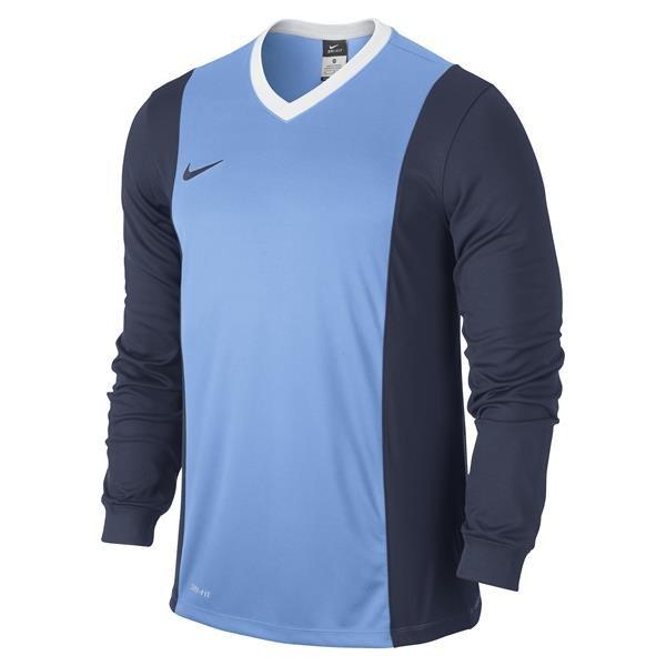 b8358251b777 Nike Park Derby University Blue Midnight Navy Long Sleeve Football Shirt