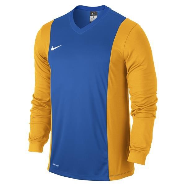 c35aa4da50a6 Nike Park Derby Royal Blue University Gold Long Sleeve Football Shirt
