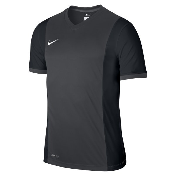 Nike Park Derby Anthracite/Black Short Sleeve Football Shirt