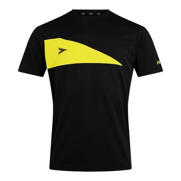 Mitre Delta Plus Black/Yellow T-Shirt