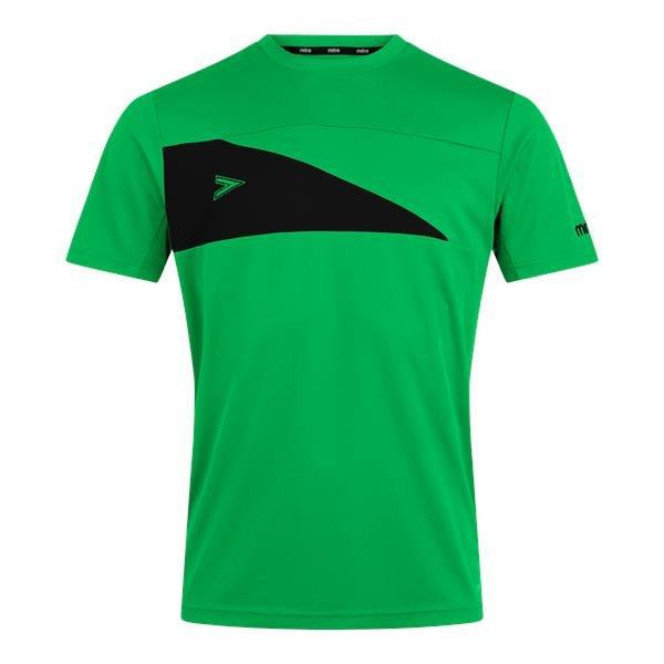 Mitre Delta Plus Emerald/Black T-Shirt