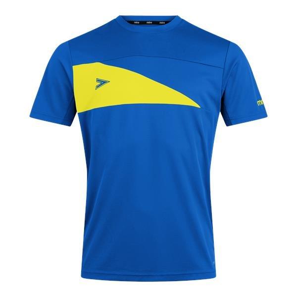 Mitre Delta Plus Royal/Yellow T-Shirt