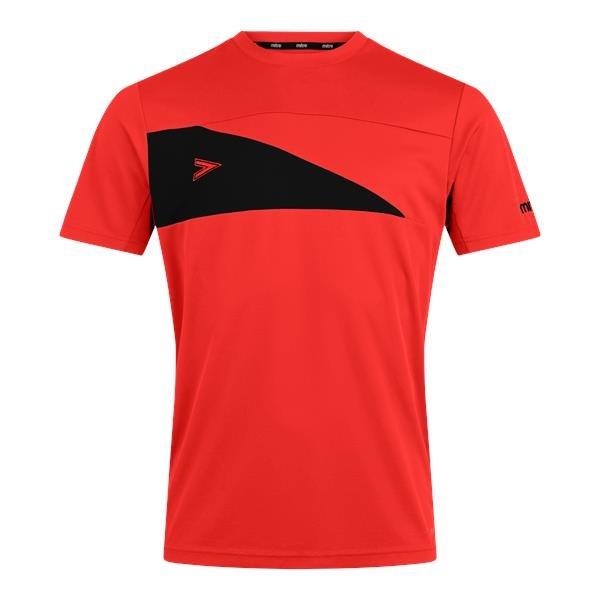 Mitre Delta Plus Scarlett/Black T-Shirt