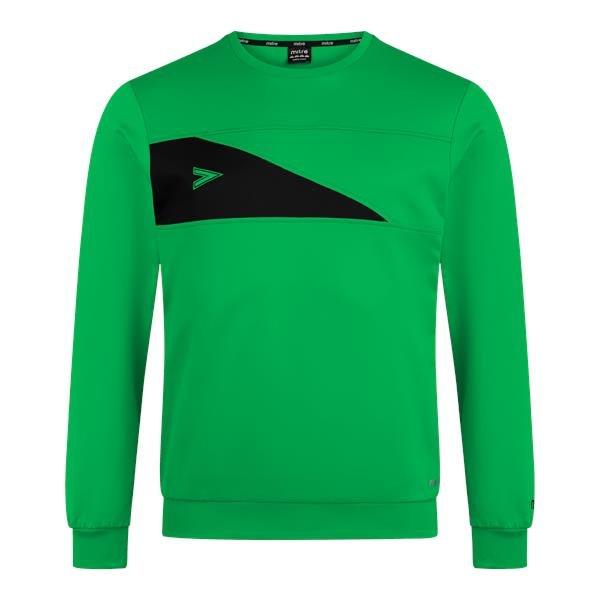 Mitre Delta Plus Emerald/Black Crew Top