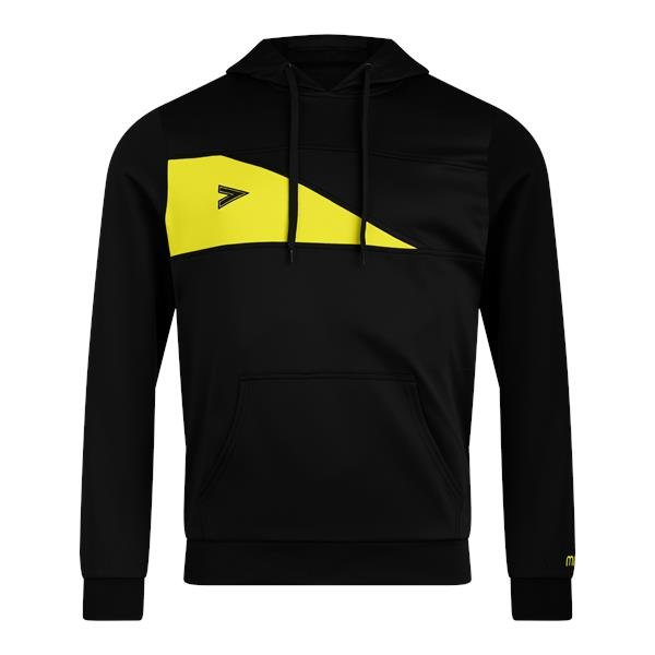 Mitre Delta Plus Black/Yellow Hoody