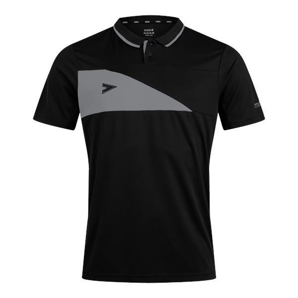 Mitre Delta Plus Black/Grey Polo