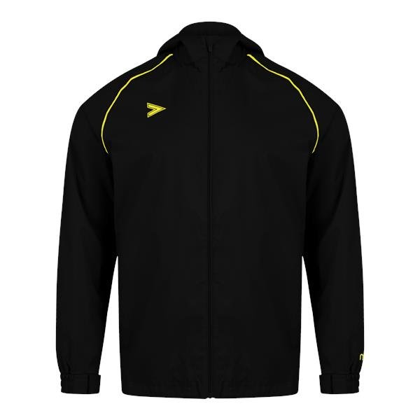 Mitre Delta Plus Black/Yellow Rain Jacket