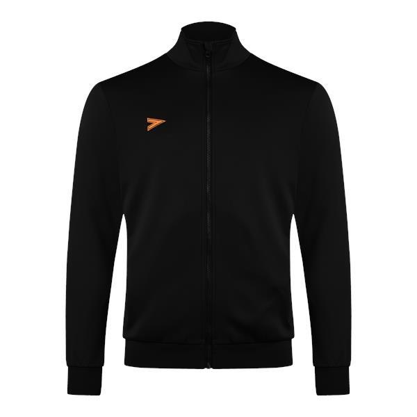 Mitre Delta Plus Black/Tangerine Track Jacket