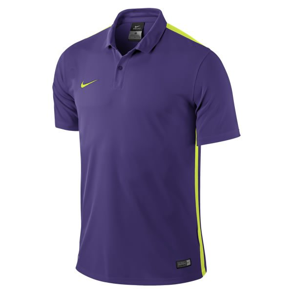 Nike Challenge Purple/Volt Short Sleeve Football Shirt