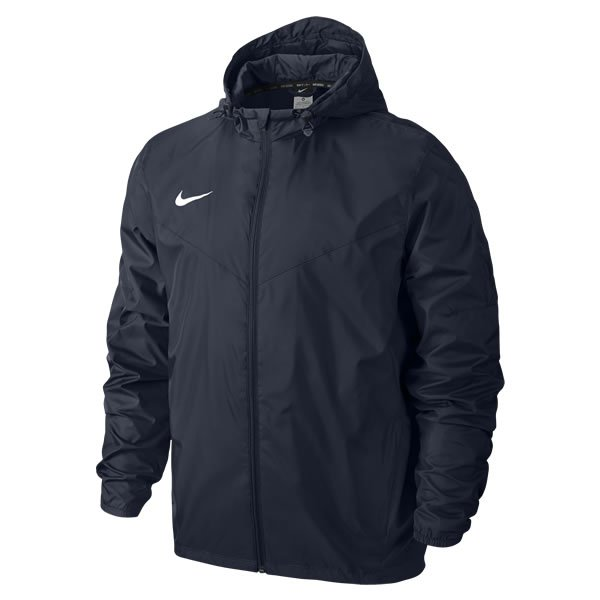 Nike Team Sideline Rain Jacket White/black