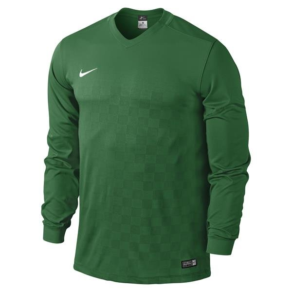 Nike Energy III Long Sleeve Football Shirt White/black