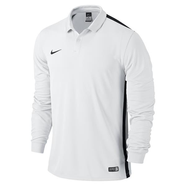 Nike Challenge Long Sleeve Football Shirt White/wolf Grey