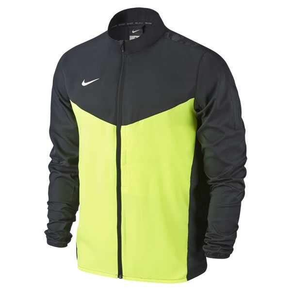 Nike Team Performance Black/Volt Shield Jacket Youths