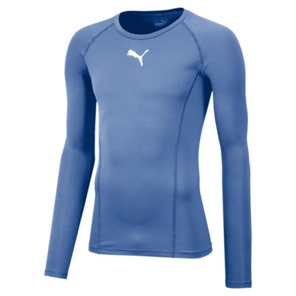 Puma Liga Baselayer LS Tee Silver Lake Blue