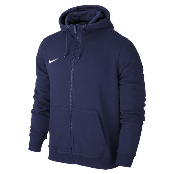 Nike Lifestyle Obsidian/White Team Club Full Zip Hoody