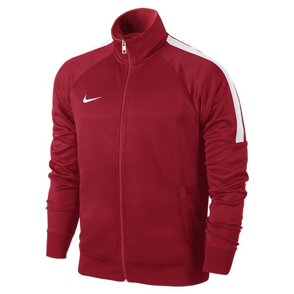 Nike Lifestyle Club Trainer Jacket Uni Red/white