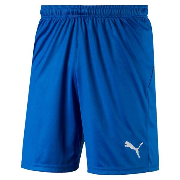 Puma Liga Core Football Shorts Electric Blue/White