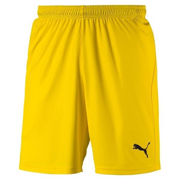 Puma Liga Core Football Shorts Cyber Yellow/Black