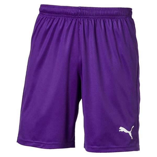 Puma Liga Core Football Shorts Prism Violet/White