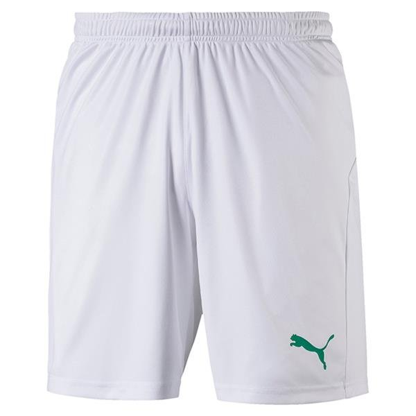 Puma Liga Core Football Shorts White/Green
