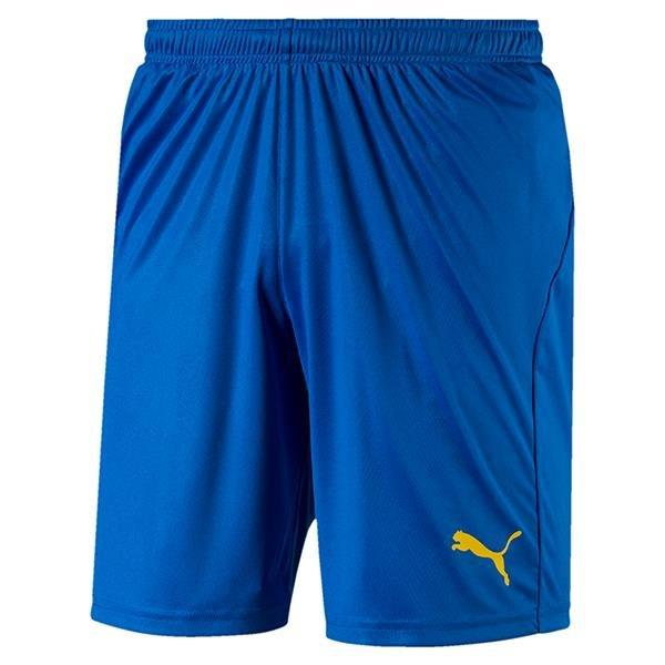 Puma Liga Core Football Shorts Electric Blue/Yellow
