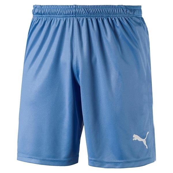 Puma Liga Core Football Shorts Silver Lake Blue/White