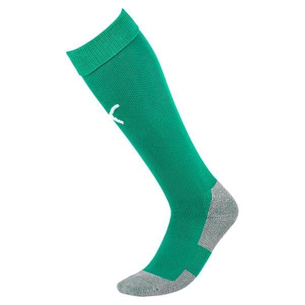 Puma Liga Core Bright Green/White Goalkeeper Sock
