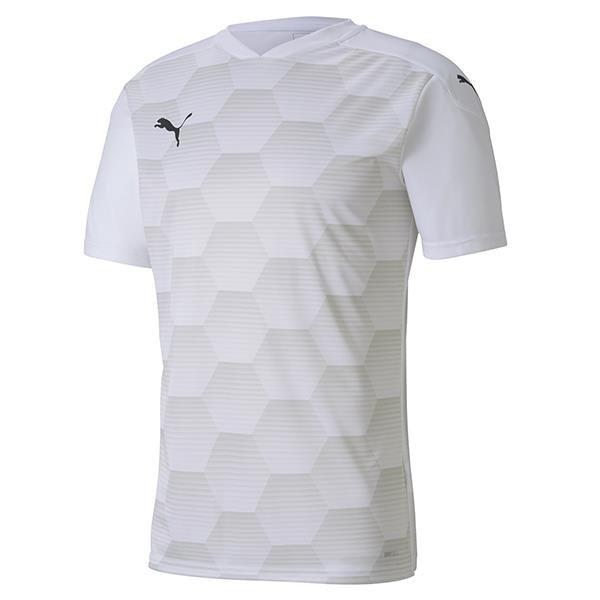 Puma Final Graphic Football Shirt Puma White