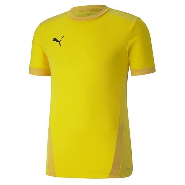 Puma Goal Football Shirt Cyber Yellow
