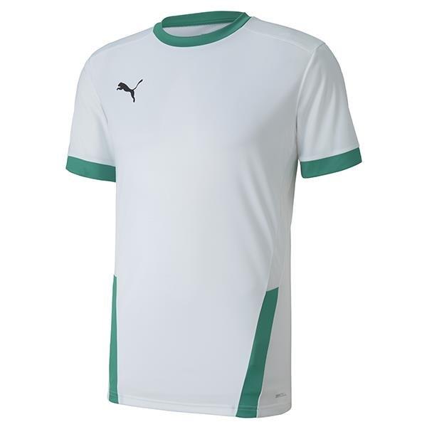 Puma Goal Football Shirt White/Green