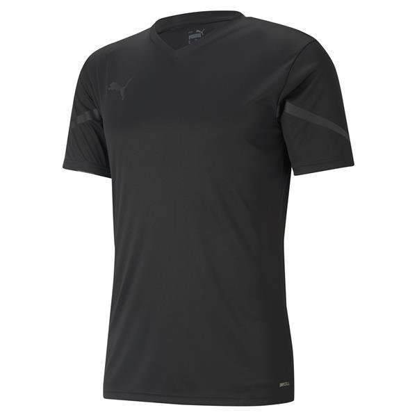 Puma Team Flash Football Shirt Puma Black