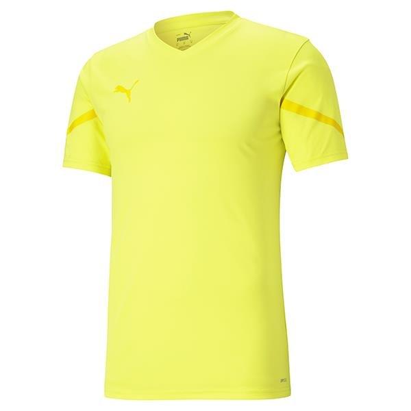 Puma Team Flash Football Shirt Fluo Yellow