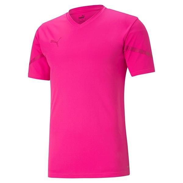 Puma Team Flash Football Shirt Fluo Pink