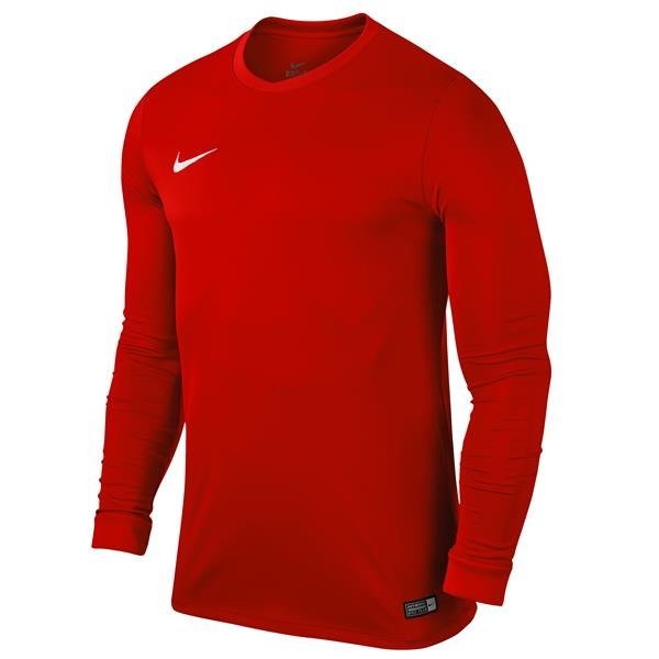 Nike Park VI LS Football Shirt University Red/White
