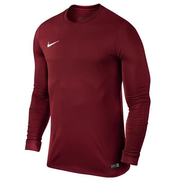 Nike Park VI LS Football Shirt Team Red/White