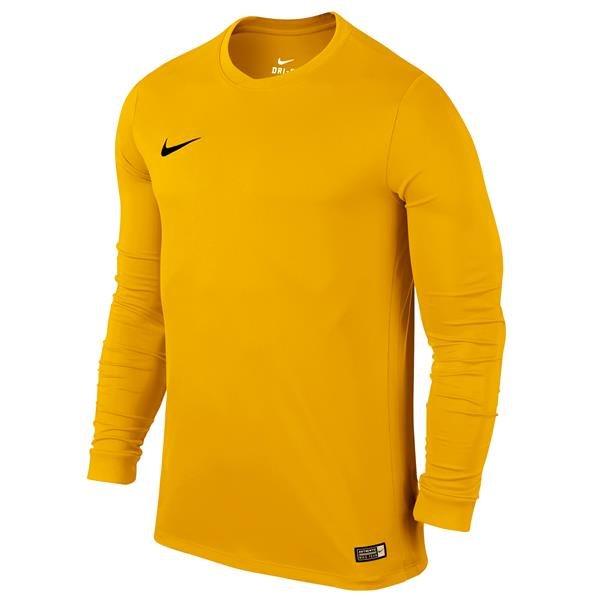 Nike Park VI LS Football Shirt University Gold/Black