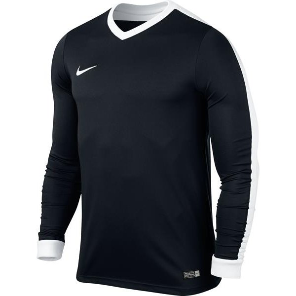 Nike Striker IV Long Sleeve Football Shirt White/wolf Grey