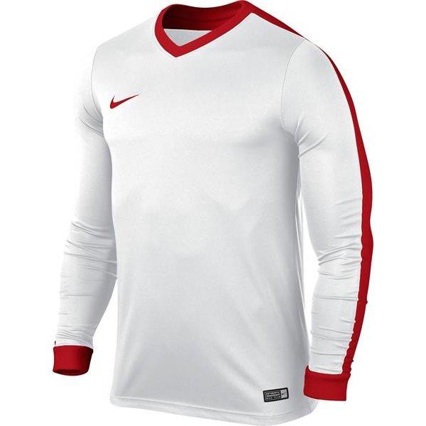 more photos 61c02 a4834 Nike Striker IV Long Sleeve Football Shirt WhiteUniversity R