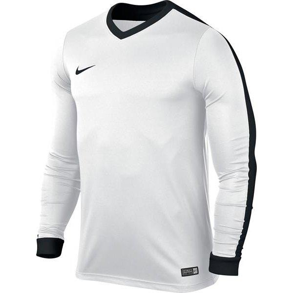 Nike Striker IV LS Football Shirt White/Black