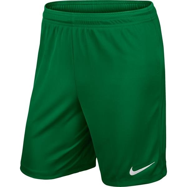 Nike Park II Knit Short Pine Green/White